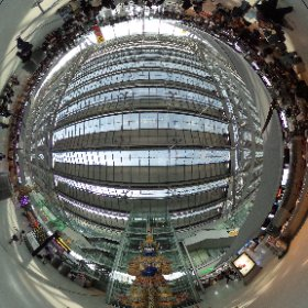 360 degrees view of Suvarnabhumi Airport #Bangkok #Thailand