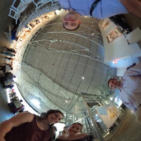 Digital Media Academy students, Helen Kimble & Taylor Vella with advisors, Wes Petty & Luis Maldonado at #CreativeJam #Adobe