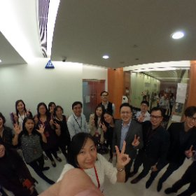 Group photo with Shirley #monoji3d #theta360