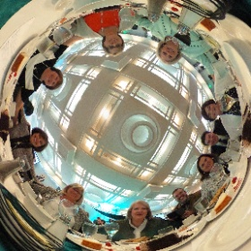 Guild table 2 at @Mwhof induction ceremony. #askformary #giveback #theta360