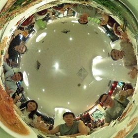 No sign board dinner  #firefly3d #theta360