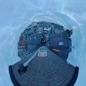 The roofs of Galway Quay and the Westend #rain3d #galway360 #galway2020 #palascinemagalway #unescocityofcinema #elementpictures #theta360
