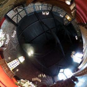 Old Mill Inn Spa Ceremony Chapel #torontoweddingphotographer  #theta360