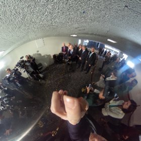 360 view: Sen Judiciary Cmte GOPers hold a presser after they sent Judge Gorsuch's nom to the Senate floor