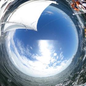 西浦の海にて... #theta360