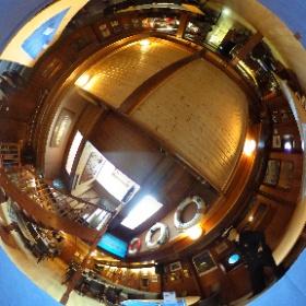Das Mienensuchboot Pluto in Hameln von innen.