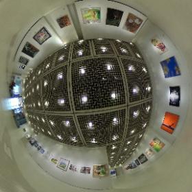 2021第56回亜細亜現代美術展第1室奥側