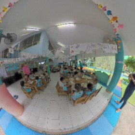 Feb 2019 visit to FSCC Foundation Slum Child Care in Klong Toei Bangkok with charity donation 10,000 baht from TECPRO Barriers, ambassador model Gunya Pie endless support, SM hub https://linkfox.io/68hWF  #butterfly3d #theta360