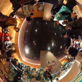 GSRグランドフィナーレ会場の祭壇もチェック👀してきました☺️💓 #fightgsr #miku360