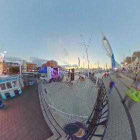 gunquay wharf Portsmouth  #theta360 #theta360uk