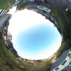 #世界遺産 に認定された #明治日本の産業革命遺産 の #長崎 の構成の一つ #小菅修船場跡 の#360°  #全球画像 #RICOH。 #ソロバンドッグ と呼ばれてます。#薩摩藩 と #グラバー が建造しました。 撮影 #出水享 #theta360