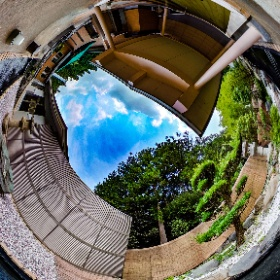 京都 湯の花温泉「松園荘」桧の露天風呂