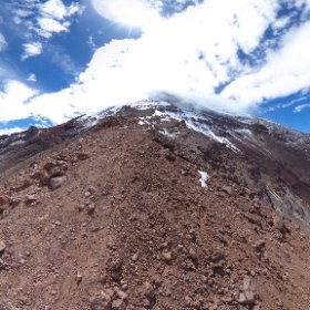 Acclimatising at 5,300mtr. Chimborazo #southwardbound boys #theta360