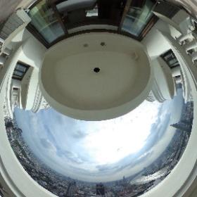 ルブア アット ステート タワー (lebua at State Tower) バルコニーからの眺め03 #ルブアアットステートタワー #lebuaatStateTower #bangkok #thailand #バンコク #タイ #theta360