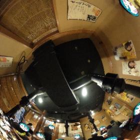 雪ミクさんと焼肉さん! #miku360 #オフ会 #theta360