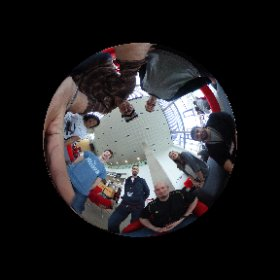 All done! Team @CalmoVR nailed it and it's time to show the world @nhshackday #nhshd #JFDI #GSD #pinksocks  #theta360