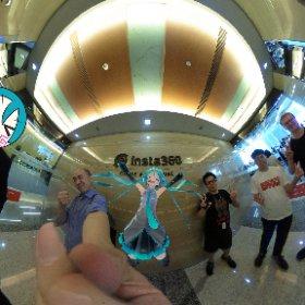 Insta360で劉CEOと再開www  #深圳での仕事 #theta360