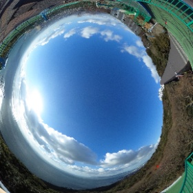 須磨浦山上遊園♪ #須磨 #神戸 #須磨山上遊園 #海 #山 #theta360