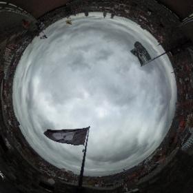 Sunday morning #gent #ghent #gravensteen #cityskyline #360view  #theta360