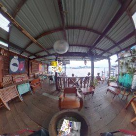 360 spherical  Samsara Cafe Bar is a chill shack on the river, pano parade of passing water action, SM hub https://goo.gl/fgLDUA BEST HASHTAGS #SamSaraCafeBar  Industry #BkkFoodDrink    #BkkZoneTaladNoi #Butterfly3d #theta360