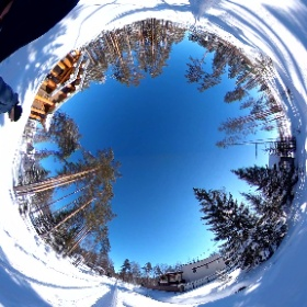 """We are a cottage village in Russia from St. Petersburg.  """"Emerald Gorki"""" - igorki.com. Choose a comfortable life in Russia.  #travel #nature #countryside #winter #theta360"""