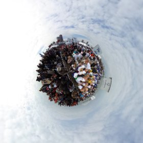 2017 Chicago Special Olympics Polar Plunge excitement. #theta360