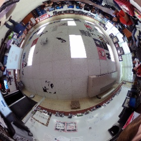 Hanging out with the amazing photography students at MacArthur High School in Houston. Thanks Ms. Quiroz!  #theta360