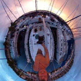 Lake Travis sunset, 190528  #SailRipple www.sailripple.com