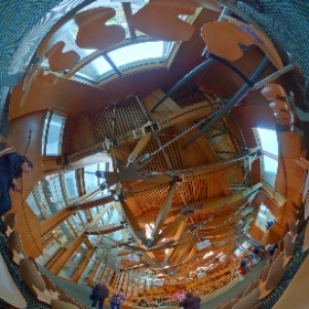 Inside Scottish Parliament today  #theta360