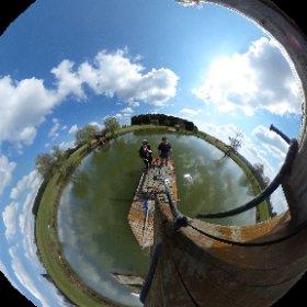 #360grad #ferienhofkosertal #teich #eineflossfahrtdieistlustig #sonne #coserbrothers