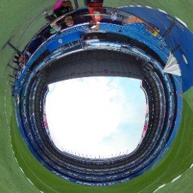 360 en el estadio Santiago Bernabéu  #theta360