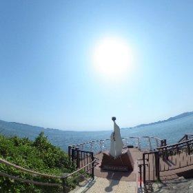 日本本土最西端 長崎県 神崎鼻 VRでバイク旅 日本一周【45日目】http://www.merkurlicht.com #theta360