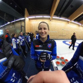 curling schweizermeisterschaft in flims #theta360 #theta360de