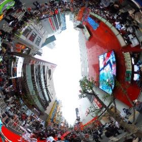 イエス!池袋 🎃HAPPY HALLOWEEN(なにをいまさら) (昨年の池ハロで撮影したものです。)#miku360    #theta360