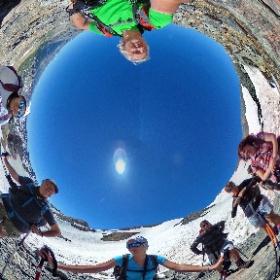 Stanchi ma felici Monte Thabor - Valle Stretta - Francia