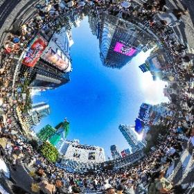東京渋谷 スクランブル交差点