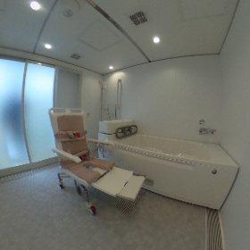 特注2738ユニットバス 個浴1台と機械浴 #theta360