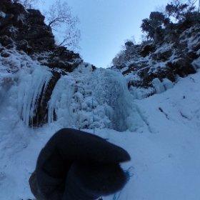 八ヶ岳アイスクライミング