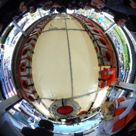 ride the duck in seattle #theta360