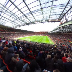 OLD TRAFFORD: Manchester United 3 Sunderland 1 - Boxing Day at the Theatre of Dreams. #theta360 #theta360uk