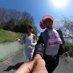 このドレスのこ、ムチャ速かった!#東北風土2016 #GenkiTohoku 詳細はこちら http://i.ktri.ps/genkitohoku #theta360