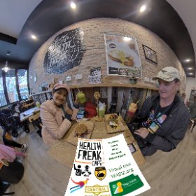 "Health Freak Cafe South Perth, short walk from Coode St Jetty Ferry service, the cafe is ""Healthy"" stuff SM hub https://linkfox.io/ttEYE BEST HASHTAGS  #HeathFreakCafeSouthPerth   #SouthPerth  #VisitPerthWA   #PerthAdventure   #Firefly3d #theta360"