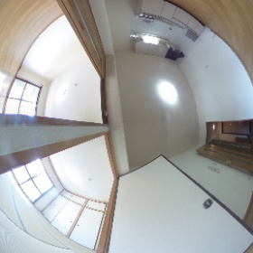 田辺市新庄町ユーミーマンション 【ユーミーパークサイド】 ダイニング&洋室&和室です。