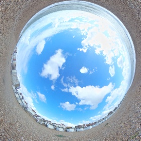 English beach  #theta360 #theta360uk