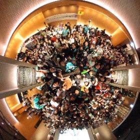 GSRグランドフィナーレ最後に記念撮影❣️  #fightgsr ありがとう😆✨  撮影ご協力もありがとうございました💓 #miku360