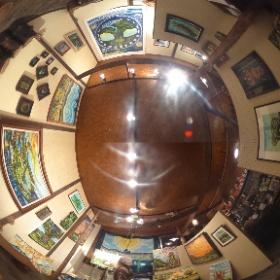 2016.4.12(火)~4.24(日) 宮下昌也絵画展「平和のために祈ります」 ギャラリー無寸草とづづ #theta360