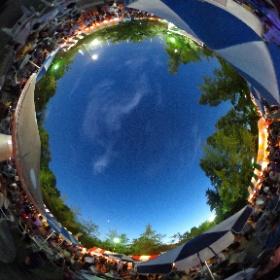 2016.08.07 豊中まつり2016 at 豊島公園#UFO3d #theta360
