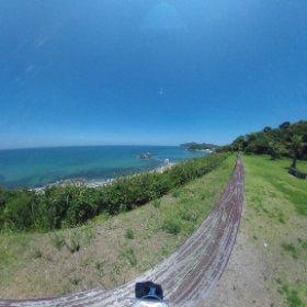 360°の海と空と夫婦岩をプレゼント