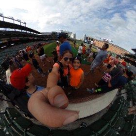 Ran the bases at Camden Yards #thisisbirdland @Orioles Let's go, O's!!!!!!