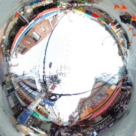 東莱市場 #theta360